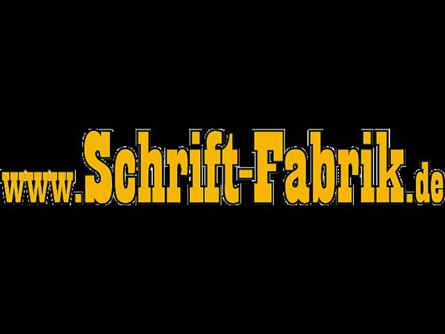 Folienschrift selbst gestalten - SCHRIFT-FABRIK.DE
