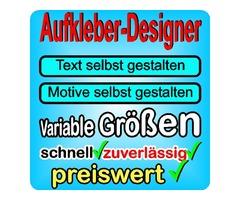 Fahrzeugbeschriftung online Designer