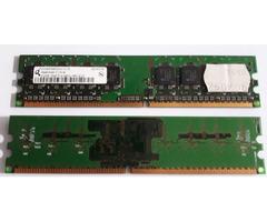 2 x Speicher Ram DDR2 512 MB