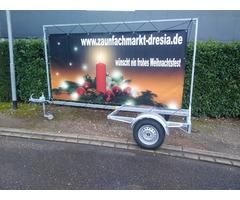 Werbeanhänger PROMOTION© 500 kg
